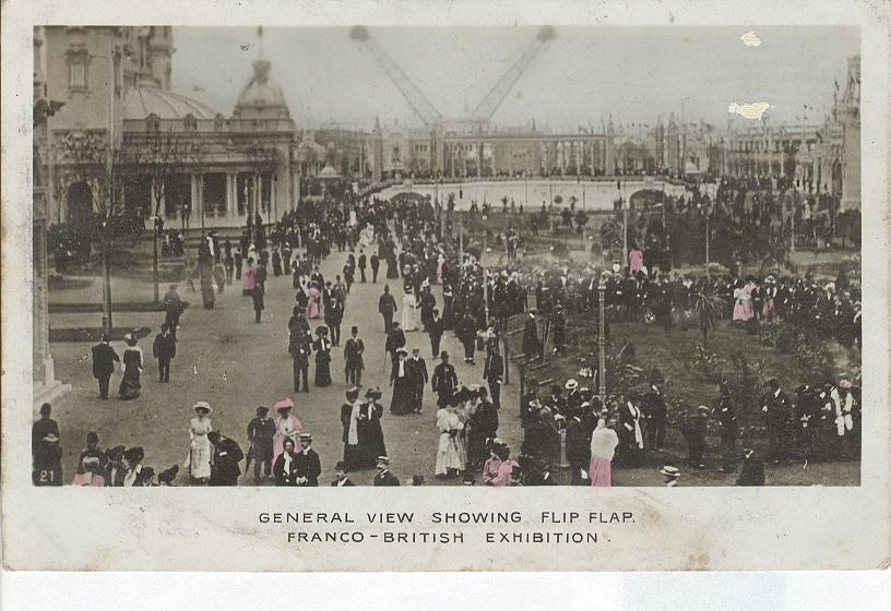General View Showing Flip-Flap Franco-British Exhibition