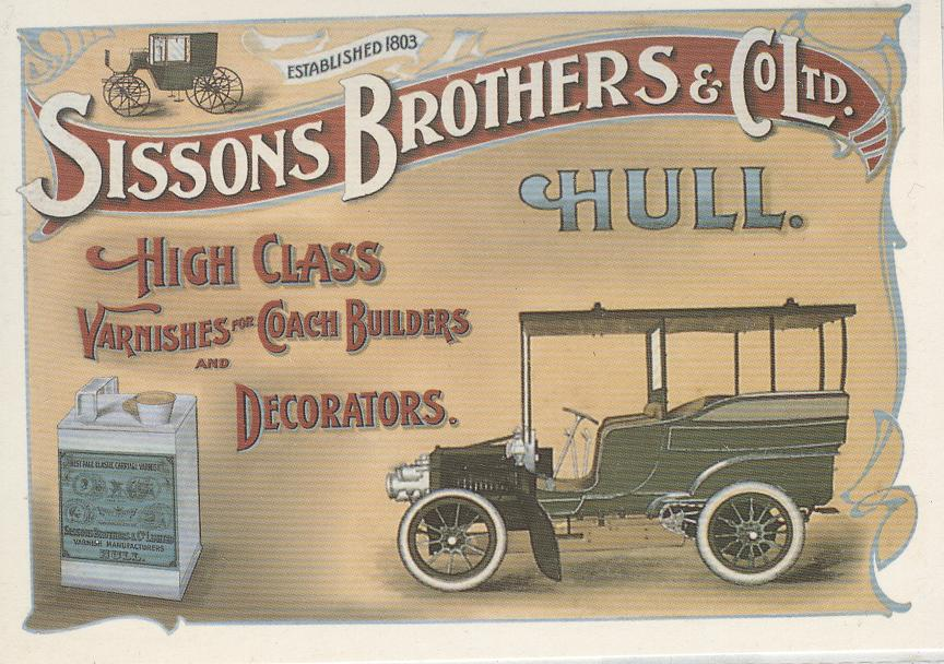 Varnish Coach Builders & Decorators Postcard