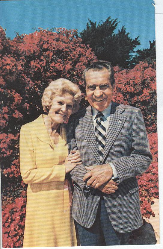 President Richard Nixon and his Wife, Pat