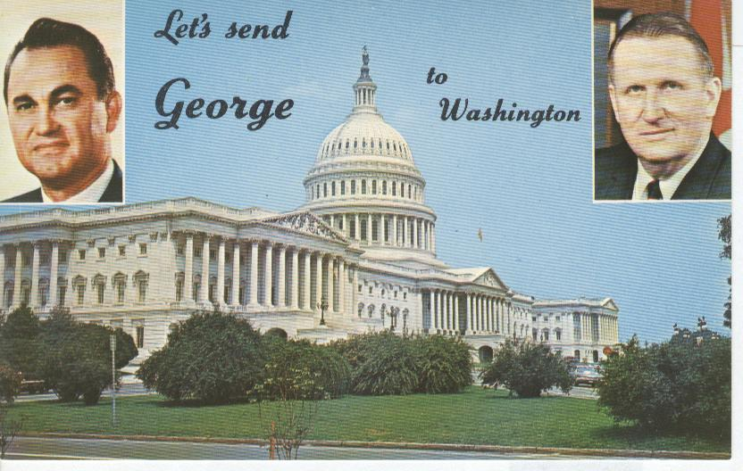 "George C. Wallace & Jim Allen ""Let's Send George to Washington"""