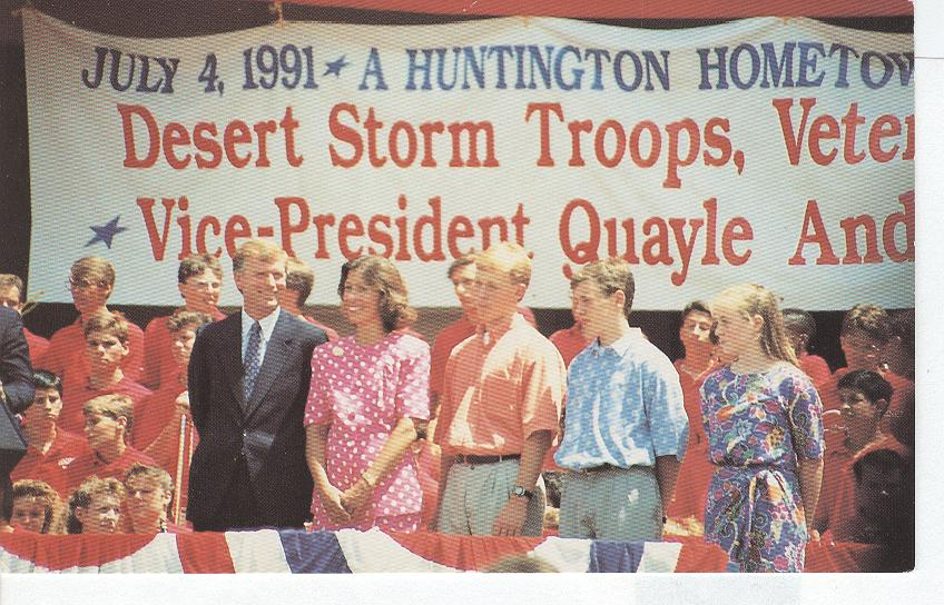 Vice President J. Dan Quayle and Family