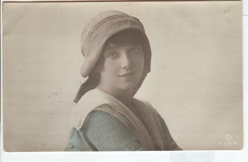 Miss Winifred Barnes....A British Beauty