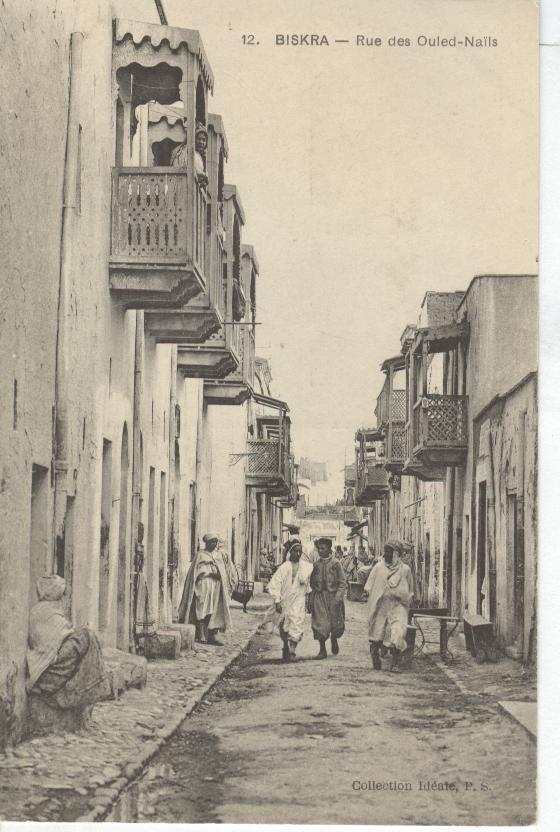Algeria-Biskra....Showing Residence Walking Through Alley