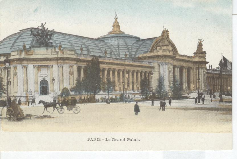 Paris- Le Grand Palais...Grand Palace