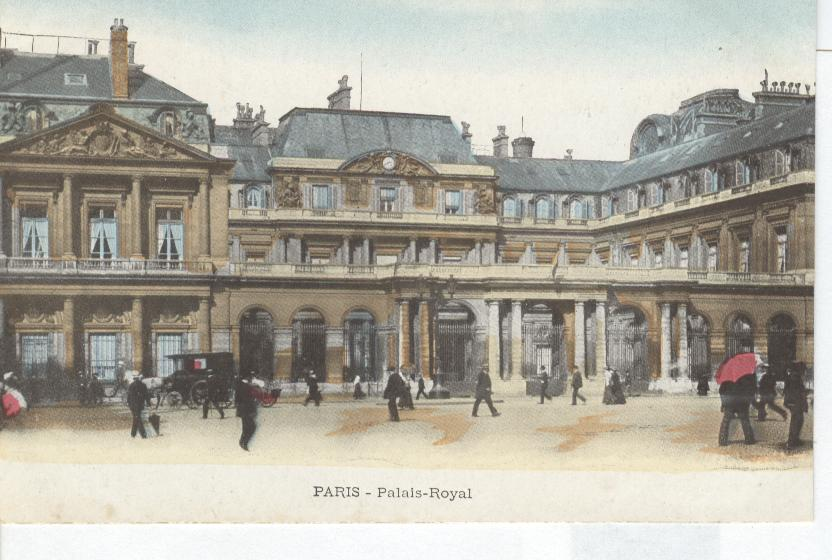 Paris- Palais-Royal.....Royal Palace