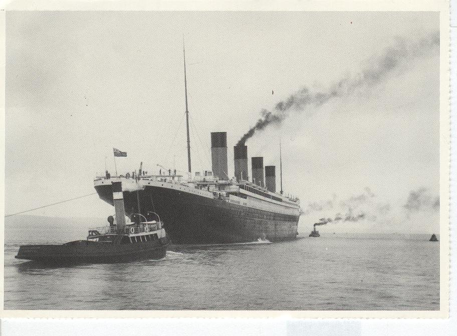 Titanic Heading Out For Trials 1912