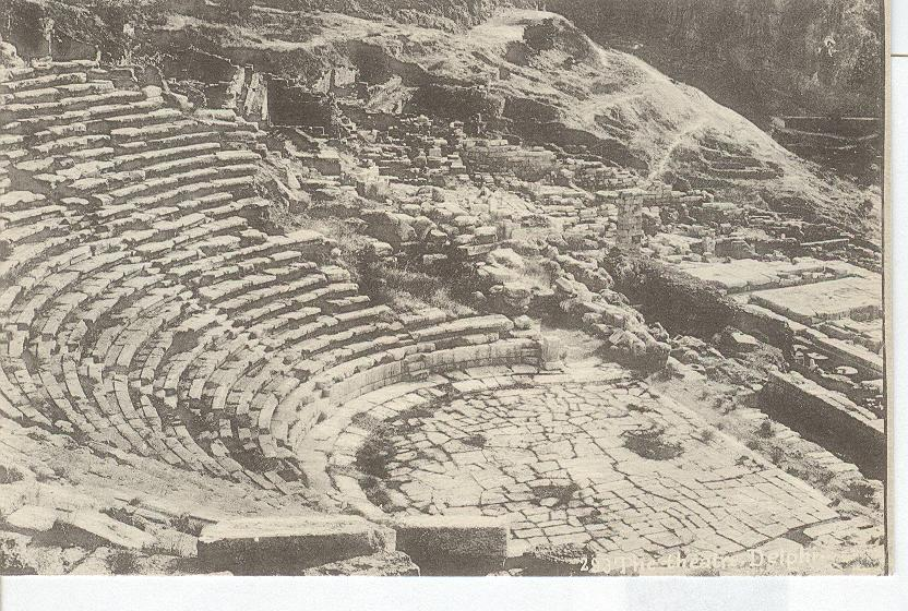 The Theatre, Delphi Greece