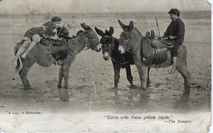 "Donkey's-"" Come Unto These Yellow Sands"""