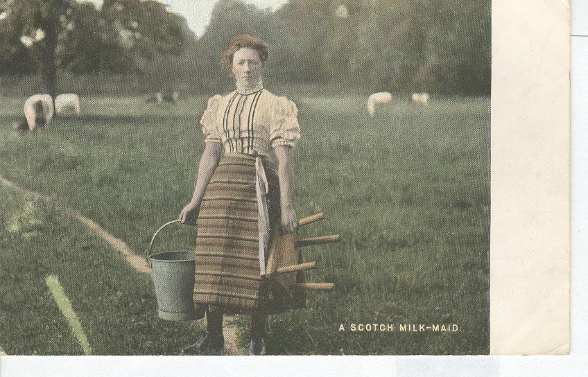 A Scotch Milk Maid
