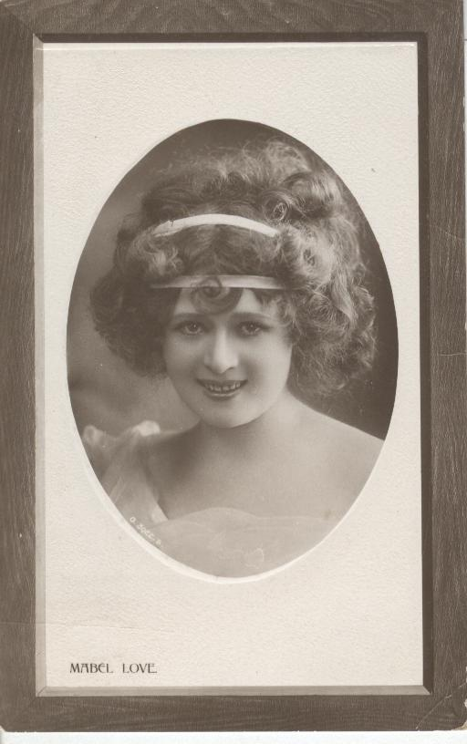 Mabel Love Postcard