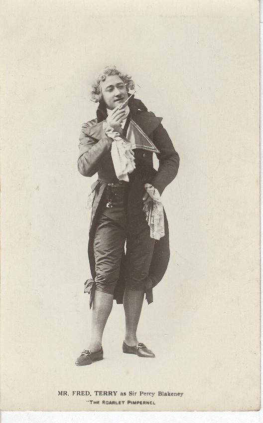 "Mr. Fred Terry as Sir Percy Blakeney in ""The Scarlet Pimpernel"""