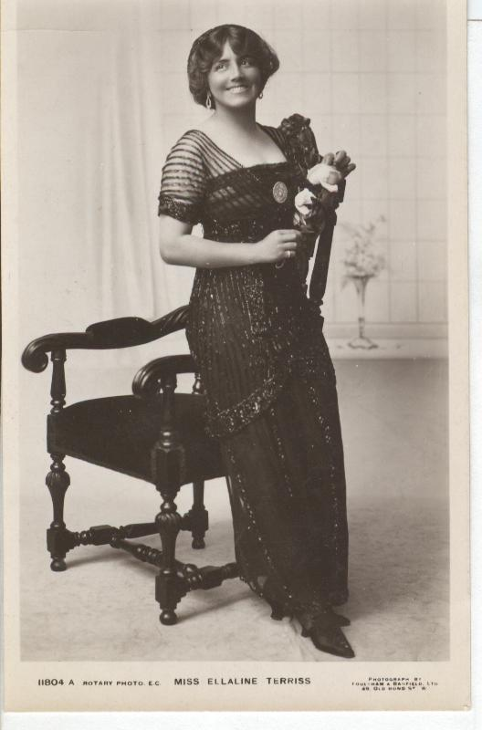 Miss Ellaline Terriss... Postcard