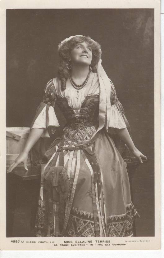 Miss Ellaline Terriss.. Postcard