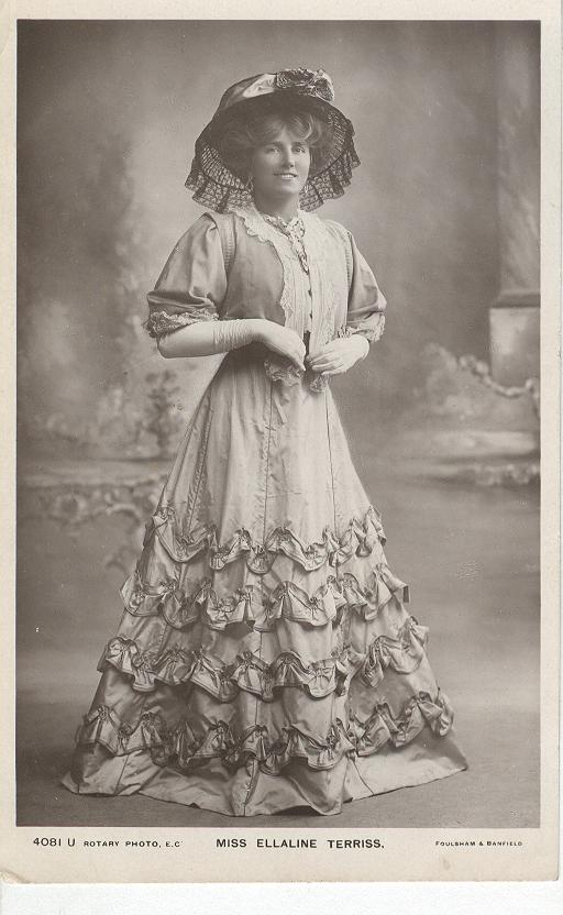 Miss Ellaline Terriss Postcard