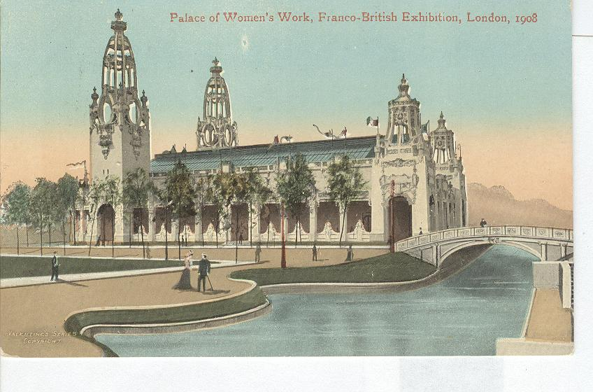 Palace of Women's Work, Franco-British Exhibition, London,1908