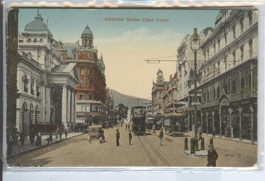 South Africa, Adderley Street, Cape Town, Street Scene