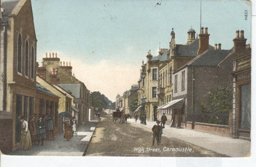 High Street, Carnoustie, England