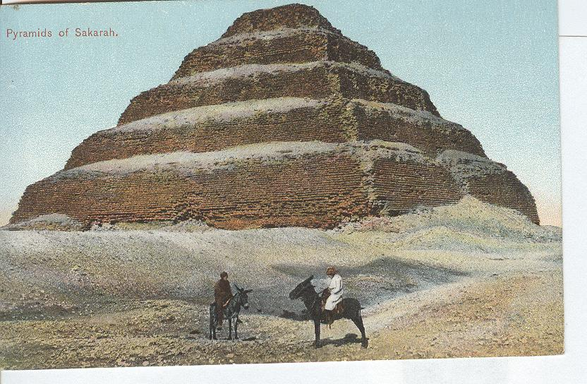 Egypt...Pyramids of Sakurah