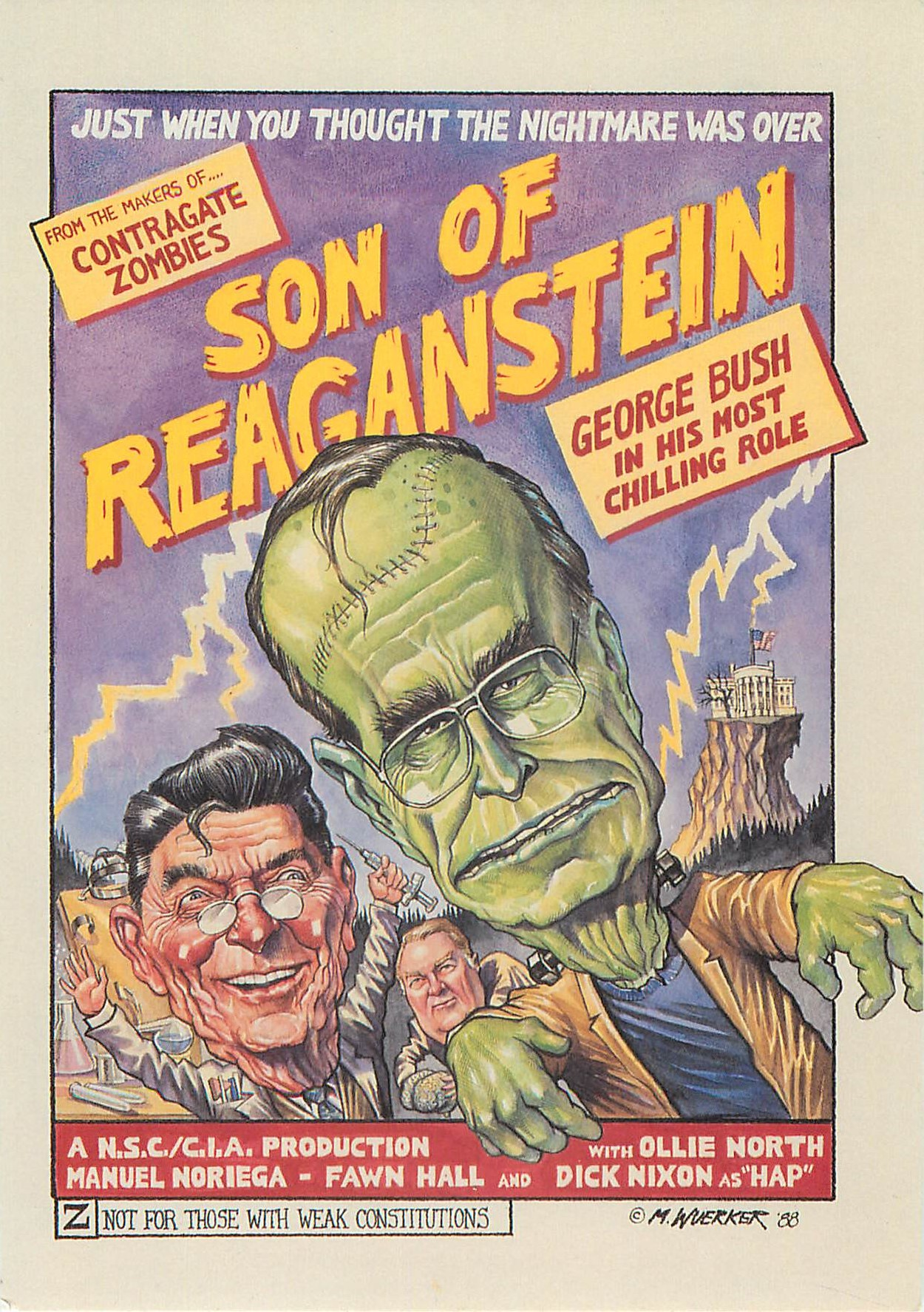 """Son of Reaganstein"""