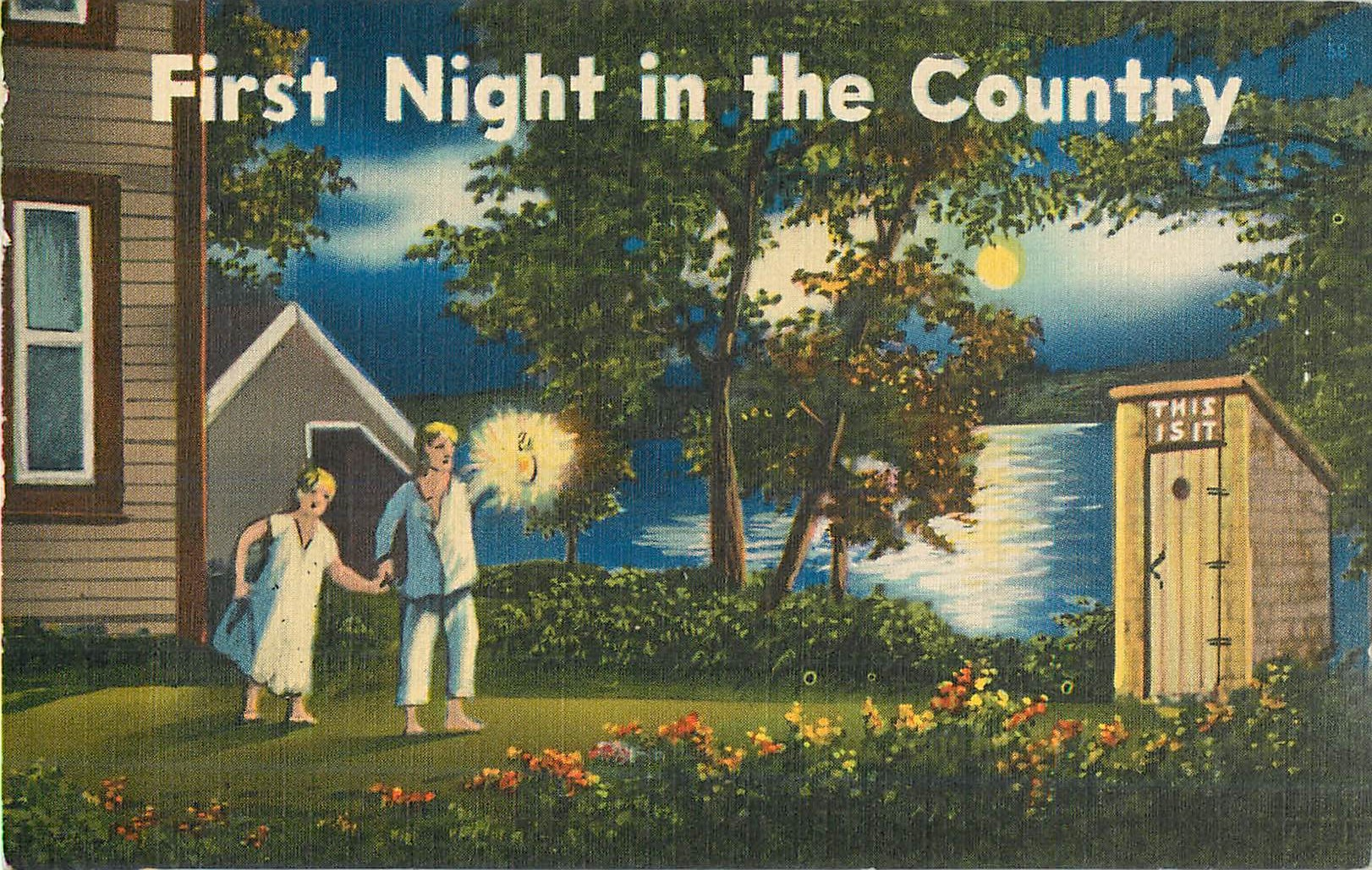 First Night in the Country - Color