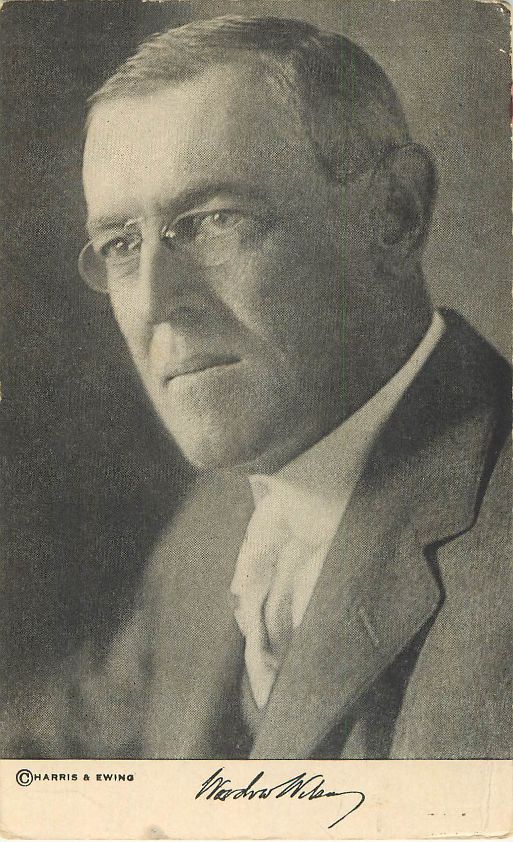 Woodrow Wilson - Black and White