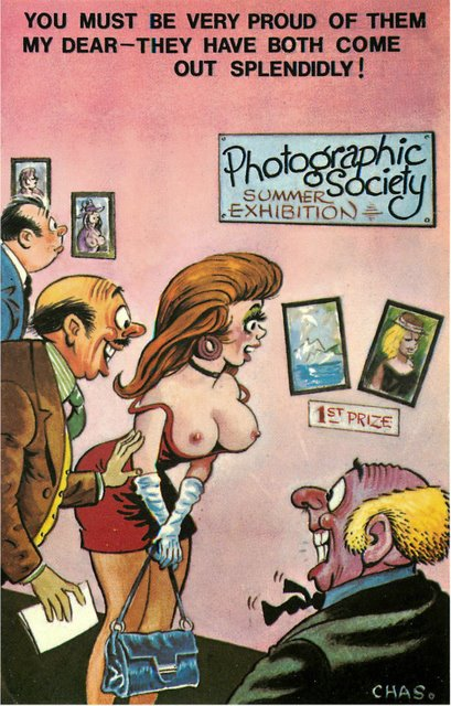 Photgraphic Society - Bamforth Comic