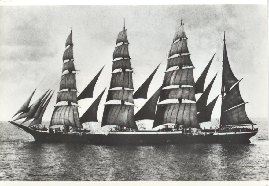 THE 4-MASTED BARQUE