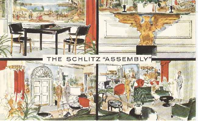 "Alcohol Postcard - The Schlitz ""Assembly"""