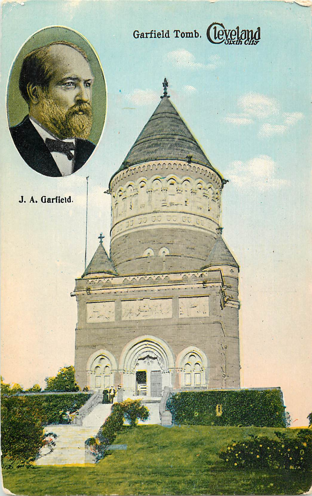 """Garfield Tomb, Cleveland Sixth City"""